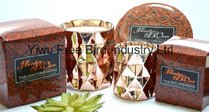 Fragrance Scented 340g Big Tin Candle with Metal Lid