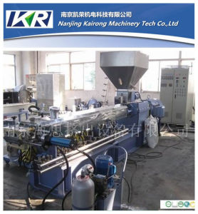Best Design Vertical Double Layer Plastic Sheet Extruder Machine with Pelletizing Extrusion Line pictures & photos