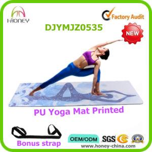 New Arrival PU Leather Yoga Mat, Custom Printed, Super Anti-Slip Yoga Mat pictures & photos