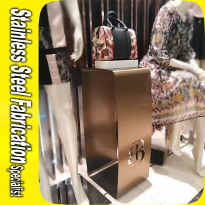 Design and Fabricating Bespoke Stainless Steel Handbag Display Rack pictures & photos