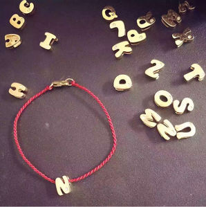 Fashion Jewelry Letters Red String Bracelet pictures & photos