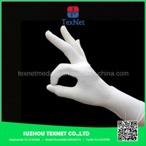 Disposable Powder Free Surgical Nitrile Gloves pictures & photos