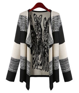 Women Fashion Cotton Knitted Cardigan Spring Sweater (YKY2036) pictures & photos
