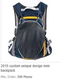 Custom Unique Design Mini Backpack