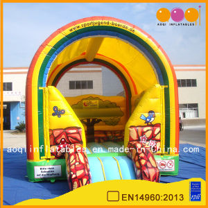 Kindergarden Rainbow Model Colorful Inflatable Bounce (AQ02267) pictures & photos