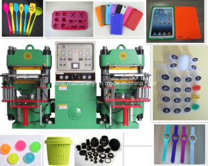 High Efficiency Rubber Silicone Phone Cover Product Making Machine pictures & photos