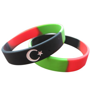 2016 Country Flag Segmented Wristbands for Events pictures & photos