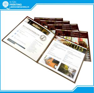 2015 Commercial Brochure Printing in China pictures & photos