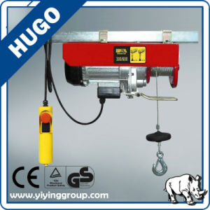 Mini Electric Wire Rope Hoist PA 1000 Electric Hoist pictures & photos