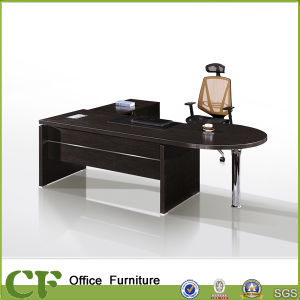 Classic Deluxe Melamine Office Desk for Executive Workstation pictures & photos