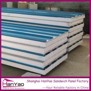 Waterproof Color Steel EPS Sandwich Panel for Wall pictures & photos