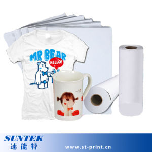 Heat Transfer Printing Sublimation Paper with High Quality (STC-T01) pictures & photos