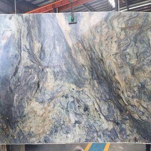 Polished Rough Brazil Quartzite Slabs for Wall / Flooring