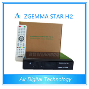 Zgemma-Star H2 DVB-S2 Hybrid DVB-C/T2 Twin Tuner Satellite TV Decoder pictures & photos