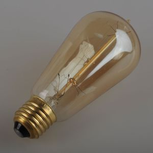 Glass Material and Bronze Color Edison Style Bulbs pictures & photos