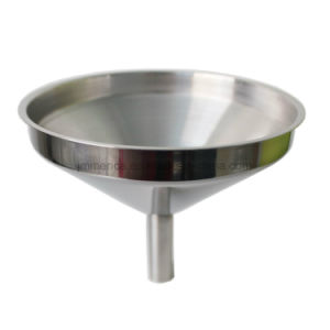 Different Sizes Stainless Steel Funnel, 6PCS Set Metal Funnel pictures & photos