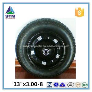 10 Inch China Pneumatic Rubber Wheelbarrow Wheel pictures & photos