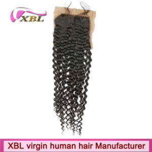 Brazilian Virgin Hair Closure Cheap Silk Base Closures pictures & photos
