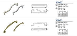 Hot Sale Zinc Alloy Furniture Pull Cabinet Handle pictures & photos