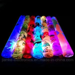 Cheap Promotional LED Cheering Sticks with Logo Print (4016)
