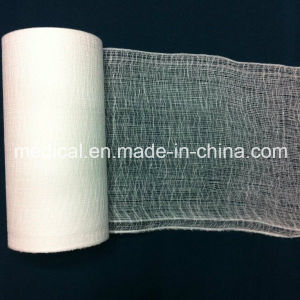 Factory Surgical 100% Absorbent Cotton Gauze Bandage pictures & photos