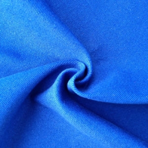 Cotton Spandex Twill Dyed Fabric for Clothing (QF13-0234) pictures & photos