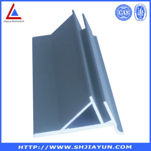 All Aluminum Extrude as Clients′ Design with Silver Anodized Surface pictures & photos