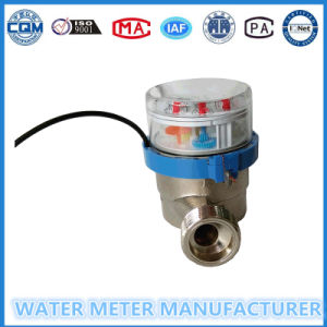 Reed Switch Pulse Output Water Meter Single Jet pictures & photos