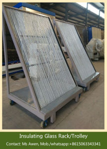Harp Rack for Insulating Glass/ Glass Storage Cart Trolley pictures & photos