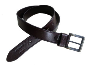 New Fashion Custom Logo Design Mans Top Grain Leather Belts (RS-DL1542) pictures & photos