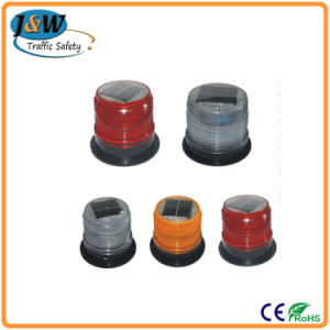 High Quality Standard Solar Revolving Warning Light From China pictures & photos
