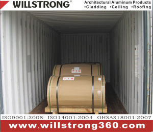 Coating Aluminum Coil with Wood Grain Pattern pictures & photos