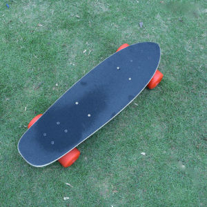 OEM Electric Remote Controlled Four Wheels Long Board pictures & photos
