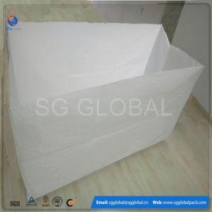 White Woven Bale Box Bag pictures & photos