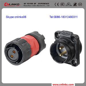 Plug and Socket Pole 2 Wire Male Female Connector/Waterproof Cable Connector pictures & photos