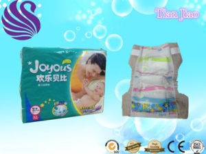Hot Sell Cheap Price High Absorption Breathable Film Baby Diaper pictures & photos