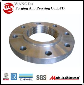 Forged Q235 Carbon Steel Weld Neck Flange pictures & photos