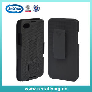 Hot Sell I Pattern Holster Combo Phone Case for Blackberry Z30 pictures & photos