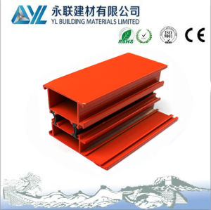 Power Coating Aluminum Profile for Building Material Used pictures & photos