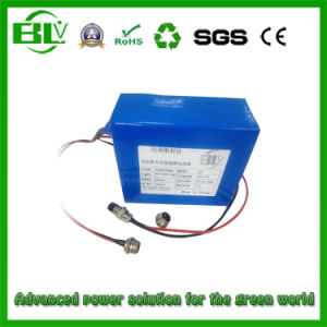 Deep Cycle Rechargeable 48V 9ah Lithium Battery Operated Air Compressor pictures & photos