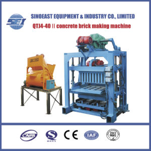 Qtj4-40II Concrete Brick Making Machine pictures & photos