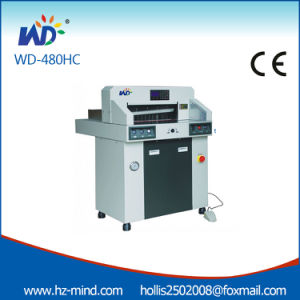 Hydraulic Digital Control Paper Cutting Machine (480mm 18 Inch WD-480HC) pictures & photos