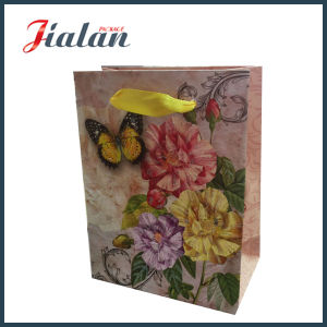 Cheap Different Designs Custom Glitter Printed Paper Bag for Jeans pictures & photos