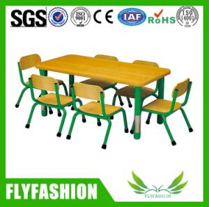 Kindergarten Standard Plastic Desk for Shcool Kids pictures & photos