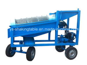 Portable Mobile Gold Wash Plant Mobile Trommel Screen
