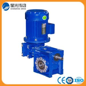 Double Worm Speed Gearbox with Motor pictures & photos