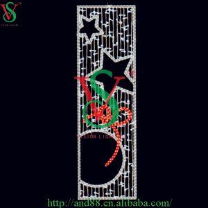 Motif LED Pole Light for Christmas Decoration pictures & photos