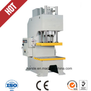 Single Column C-Frame Hydraulic Press for Bearings Punching pictures & photos