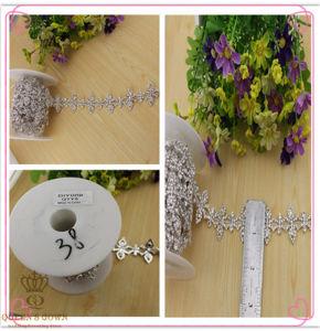 Wedding Dress Long Section of Hollow Diamond Belt, Diamond Chain pictures & photos