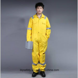 100% Cotton Proban Flame Retardant Long Sleeve Safety Coverall with Reflective Tape pictures & photos